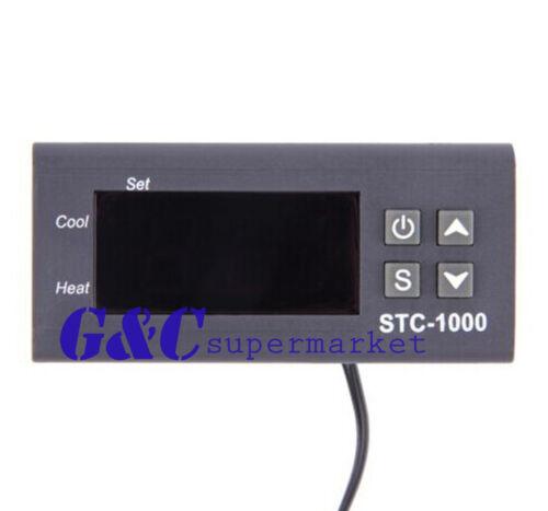 Digital STC-1000 All-Purpose Temperature Controller Thermostat With Sensor 220BN