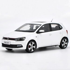 1-18-Scale-VW-Volkswagen-POLO-GTI-2013-White-Diecast-Car-Model-Toy-Collection