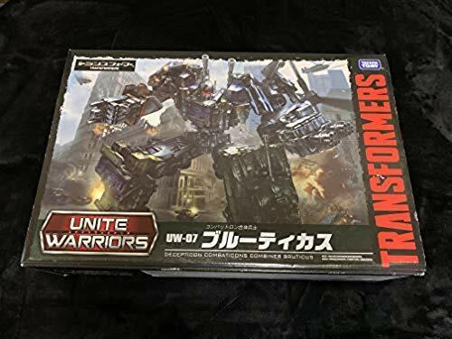 Takara Tomy Transformers Unite Warriors UW07 Bruticus Action Figure Japan used
