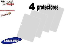 "Pack 4 protectores de pantalla tablet Samsung Galaxy Tab a 6 2016 10.1"" Sm-t580"