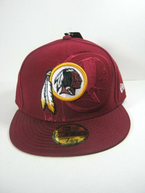 huge selection of 9c46b cc30b Washington Redskins Era 59fifty Official NFL Sideline Fitted Cap 7 1 ...