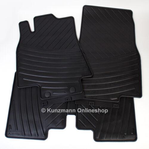 Original Mercedes-Benz Gummimatten A-Klasse W169 Fußmatten Allwettermatten NEU