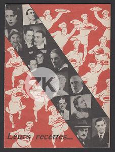 REFRIGERATEUR-FRIMOTOR-NORGE-Gastronomie-Tino-ROSSI-Recette-DAMIA-Cuisine-1930s