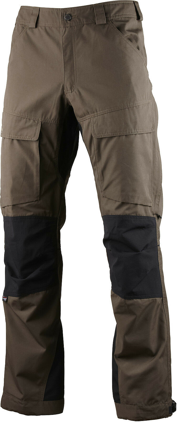 LUNDHAGS AUTHENTIC Pant, Regular, Tea verde, Trekking Pantaloni con stretcheinsätzen