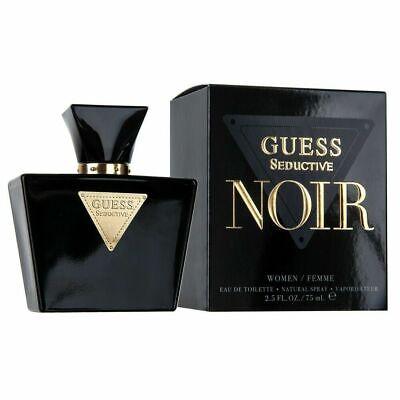 Guess Seductive Noir Perfume 2 5 Oz Edt Spray For Women New 85715320216 Ebay