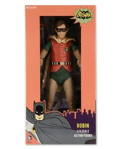 BATMAN-Robin-039-Burt-Ward-039-1966-TV-Series-1-4-Scale-Action-Figure-NECA-NEW