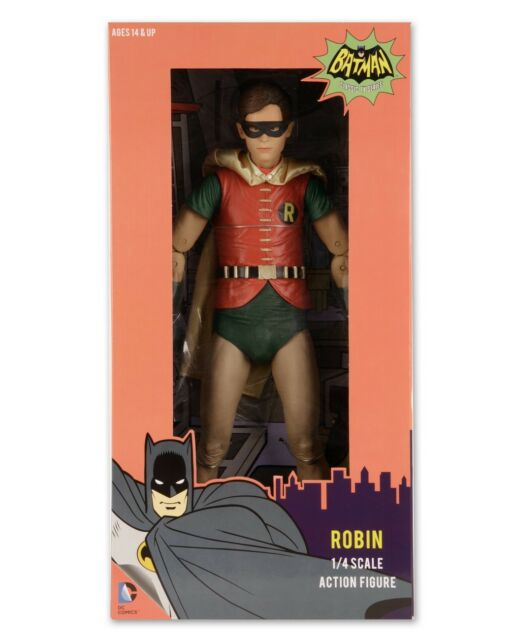 BATMAN - Robin 'Burt Ward' 1966 TV Series 1/4 Scale Action Figure (NECA) #NEW