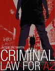 Criminal Law for A2 by Jacqueline Martin (Paperback, 2006)