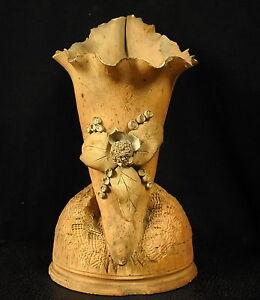 Scultura-in-Terracotta-D-039-Une-Corno-Abbondanza-Curiosita-22cm-600-G-Cornucopia