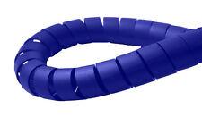 Encuadernación en Espiral Cable Envoltura Ordenado 6mm Azul-administración de alambre de PC TV de Oficina en Casa 3mtr