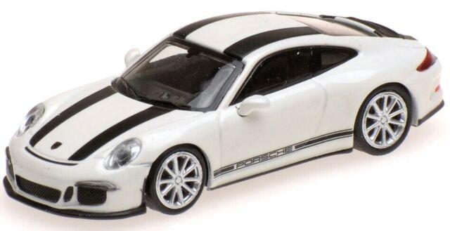 - MNC870066226 - Voiture sportive PORSCHE 911 R de 2016 de couleur blanche avec