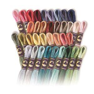 DMC-Color-Variations-100-Cotton-Cross-Stitch-Threads-Skeins-4010-to-4240-8m
