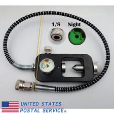"""G7 paint tank fill whip 4500psi line 34/"""" scuba fill PCP 1//8/"""" Quick Release 10510"""