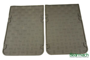 "Land Rover Series 2 Bearmach 3 109/"" 2nd Row Rear Rubber Floor Mats"