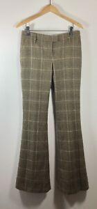 à en Zoe Brown 2 Rachel laine Taille carreaux Pantalon large Stq717