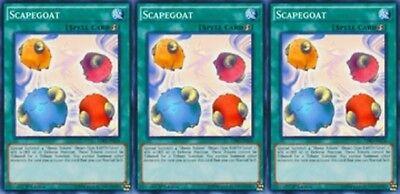 Scapegoat X 3 Mili 1st Common Mint YUGIOh