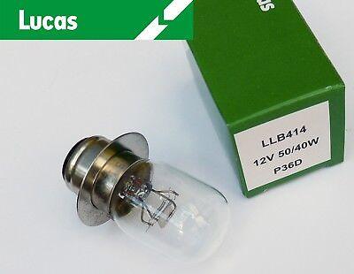 24-24 W  PRE-FOCUS HEADLAMP HEADLIGHT BULB NOS GENUINE LUCAS 12V