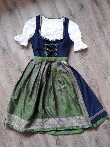 *holy Couture By Stockerpoint* Dirndl Mit Vielen Süßen Details+ Schürze, Gr. 40