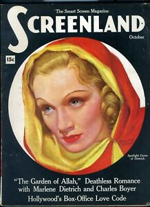 SCREENLAND-OCT-1936-MARLENE-DIETRICH-cover-by-MARLAND-STONE