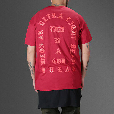 I Feel Like Pablo Red T-Shirt Tee TLOP The Life Of Pablo Kanye Yeezus