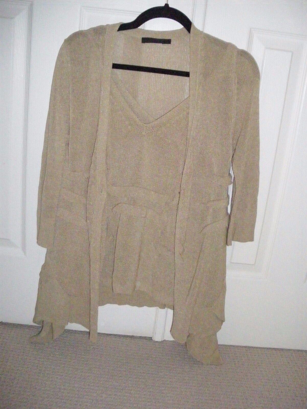 women Karan Karan Karan Collection sweater set sz.M 9323ea