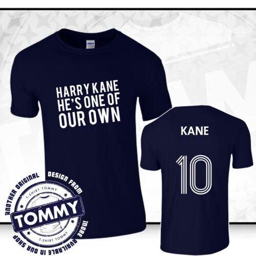 Tottenham Hotspurs Harry Kane l/'un de nos propres T-shirt Coys bleu Spurs tee