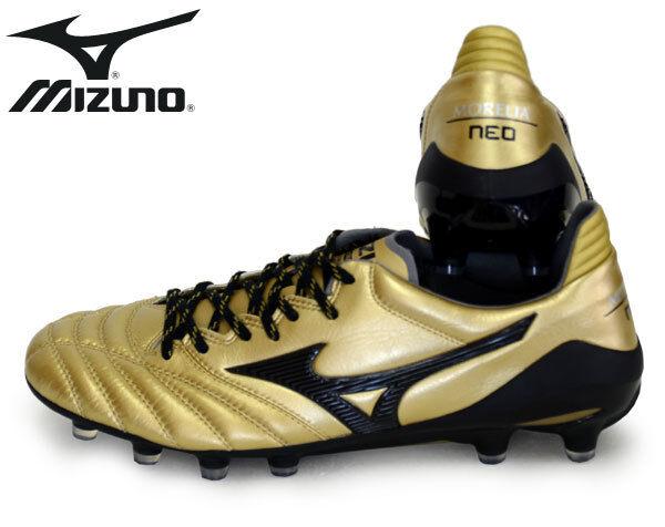 New Soccer Mizuno Soccer New Spike MORELIA NEO 2 P1GA1850 Freeshipping ae1317