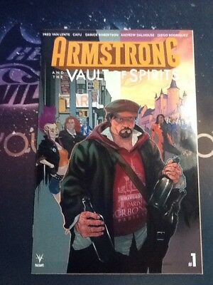 Armstrong And The Vault Of Spirits #1 Vf/nm valiant cbzz056