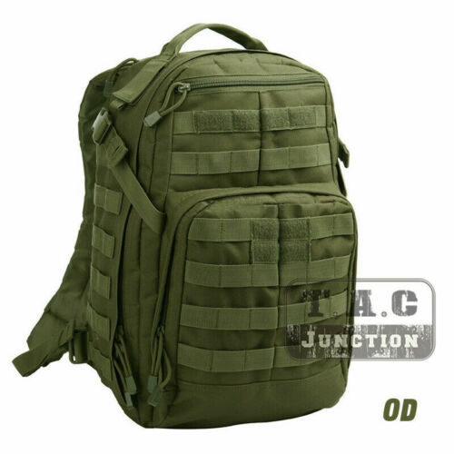 Tactical MOLLE Everyday Military Backpack Outdoor 24L Rucksack bug out bag Pack