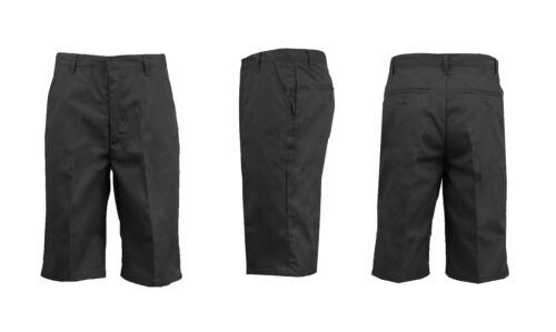 """Homme uniforme short en coton mélangé Lounge Travail École poches 12-14/"""" Entrejambe Couleurs"""