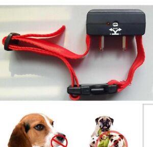 Collar-De-Adiestramiento-Electrico-Sonido-Antiladridos-Canino-Perro-Bark-Stop