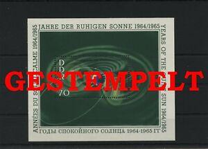 Germany-GDR-vintage-yearset-1964-Mi-Block-22-Postmarked-Used-More-See-Shop