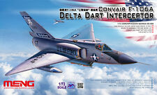 Meng 1/72 Convair F-106a Delta Dart Interceptor Plastic Model Kit DS006