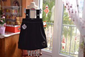 robe-victoria-couture-noir-ecusson-8-ans-ideal-fetes-avec-chemisier