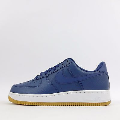 Nike Air Force 1 Low Midnight Navy Blue White, Men's Fashion
