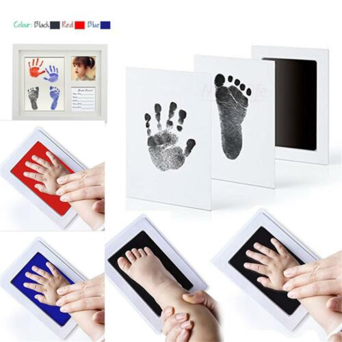 2~4 PCS Inkless Print Wipe Kit NewBorn Safe Baby Hand/&Foot Print Keepsake Baby