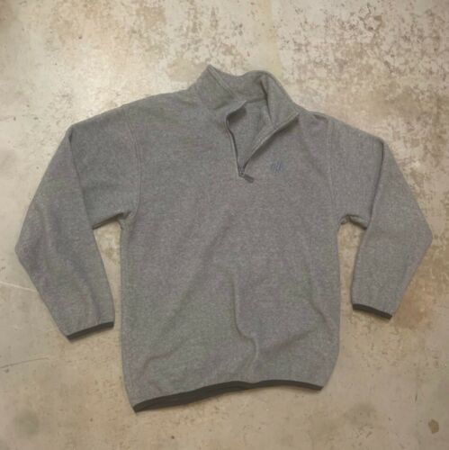 Nike quarter zip fleece gray size medium