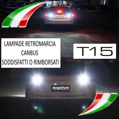 LAMPADE RETROMARCIA 13 LED T15 W16W CANBUS PER TOYOTA RAV-4 IV 6000K NO AVARIA