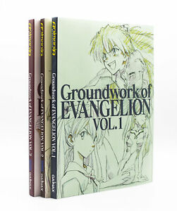 Groundwork-of-Evangelion-Komplett-Bd-1-3-ISBN
