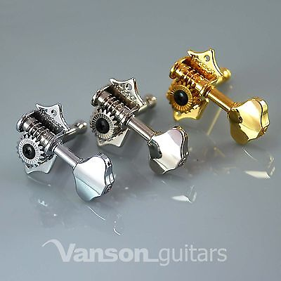 Acoustic etc Wilkinson Tuners//Machine Heads Chrome 3-a-side WJ28N 19:1 Gear Ratio for Gretsch Electromatic