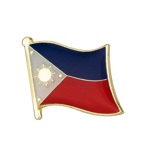 PHILIPPINE PHILIPPINO FLAG METAL AND ENAMEL PIN BADGE BRAND NEW FREE POST