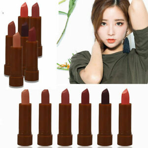 6Pcs Set Long Lasting Makeup Waterproof Matte Velvet Lipstick Lip P4Q4