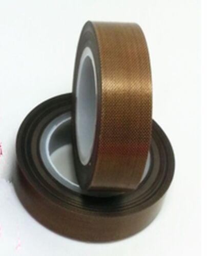 New 5mm*10M Teflon High temperature adhesive tape