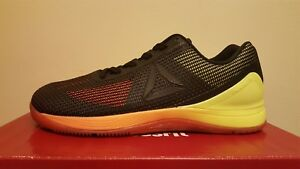 Reebok CrossFit Nano 7.0 Men s Training Shoes Vitamin C Yellow Black ... e4bb13328