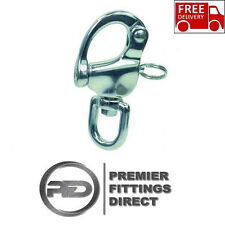 70MM Swivel Snap Shackle 316 Stainless Steel - Carabiner Quick Release