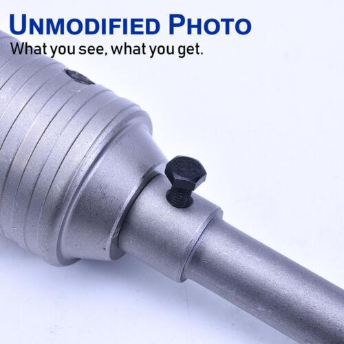 HEX 30-125 mm Hole Cutter Concrete Masonry Brick TCT Core Drill Bit SDS Plus US