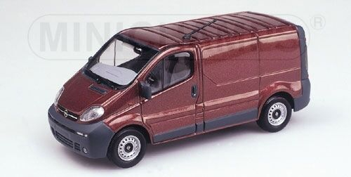 Opel Vivaro Van 2001 rosso Metallic 1 43 Model MINICHAMPS