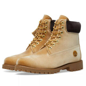 369d84e8aa8 Details about OFF–WHITE x Timberland 6-Inch Velvet Boot