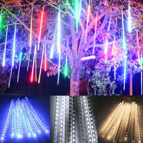 192//384//360//540 LED Meteor Shower Falling Star Rain Drop Icicle Snow Fairy Light