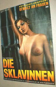 A1 Filmplakat ,DIE SKLAVINNEN,JESS FRANCO,LINA ROMAY